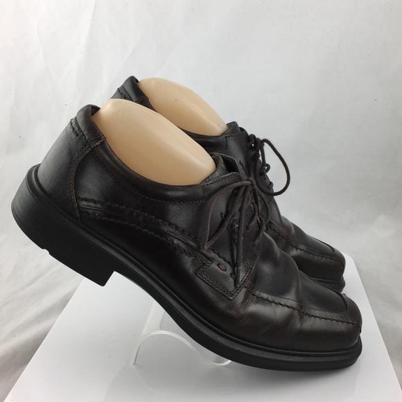 Ecco Mens oxford Shoes Size 9/9.5 EUR 43